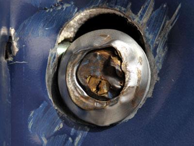 Broken key.  Call an emergency locksmith, Rochester NY